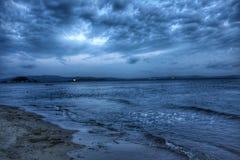 Nuvole ed il mare Fotografie Stock