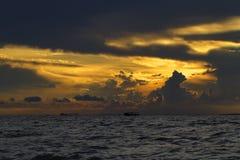 Nuvole fantastiche Fotografia Stock Libera da Diritti