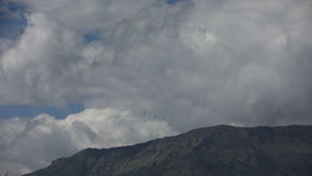 Nuvole in Himalaya archivi video