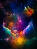 Nuvole interstellari di Digital Fotografia Stock Libera da Diritti