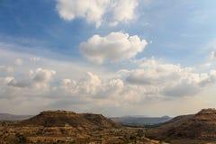 Nuvole & montagna Immagine Stock Libera da Diritti