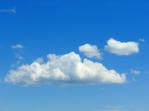 Nuvole nel cielo blu 2 Fotografie Stock