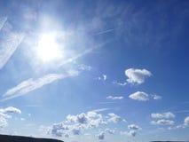 Nuvole nella formazione Immagine Stock
