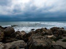 Nuvole piovose Fotografia Stock Libera da Diritti