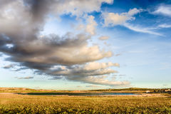 Nuvole sopra la laguna Fotografie Stock