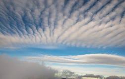 Nuvole stupefacenti Fotografie Stock