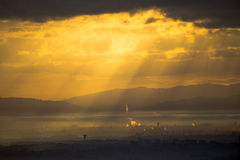 Nuvole su Algeri Immagine Stock Libera da Diritti