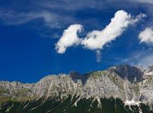 Nuvole sul cielo Immagini Stock Libere da Diritti