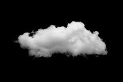 Nuvole sul nero Immagine Stock Libera da Diritti