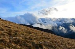 Nuvole Tatras ad ovest Immagini Stock Libere da Diritti