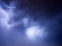 Nuvole tempestose Fotografie Stock