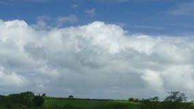 Nuvole tempestose di estate Immagini Stock