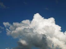 Nuvole tempestose nel cielo Fotografia Stock