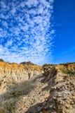 Nuvole a Torrey Pines Fotografia Stock Libera da Diritti