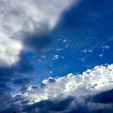 Nuvole tutto il giorno Fotografie Stock
