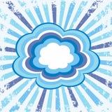 Nuvole variopinte Immagini Stock Libere da Diritti