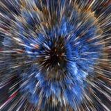Nuvole variopinte della galassia e struttura astratta della stella di Big Bang Immagine Stock Libera da Diritti