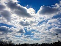 nuvoloso Fotografia Stock Libera da Diritti