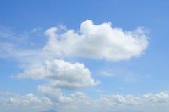 nuvoloso Fotografia Stock
