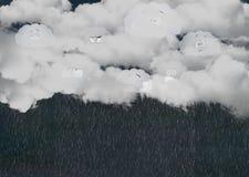 nuvoloso Fotografie Stock