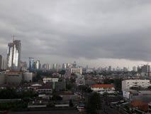 nuvoloso Immagine Stock