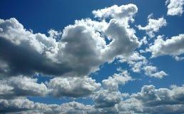 Nuvoloso e luminoso Immagine Stock Libera da Diritti