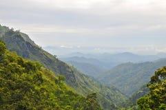 Nuwara Eliya, центральная провинция Шри-Ланка Стоковая Фотография