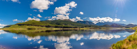 Nuwebergdam. The picturesque Nuwebergdam which translates to New Mountain Lake in the Western Cape of South Africa near Cpae Town Royalty Free Stock Images