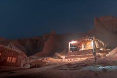 Nuweiba Röda havet arkivfoto