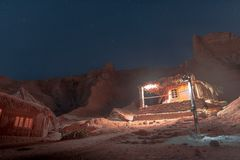 Nuweiba-Rotes Meer stockfoto