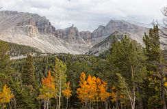 NV伟大的水池全国公园轮车峰顶 免版税图库摄影