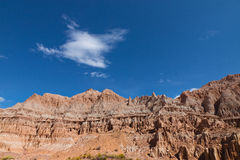 NV-Cathedral Gorge State Park Royalty Free Stock Image