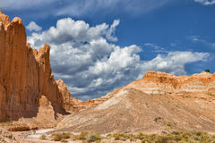 NV-Cathedral Gorge State Park Royalty Free Stock Images
