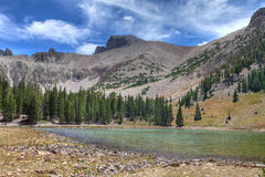 NV-Great Basin National Park-Apine Lakes Trail Stock Images