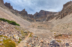 NV-Great Basin National Park-Bristlecone Pine trail Stock Photography