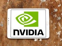 Nvidia-embleem royalty-vrije stock foto's