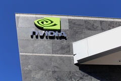 Nvidia World Headquarters Stock Photo