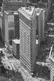 Nw约克曼哈顿平的铁大厦 库存图片