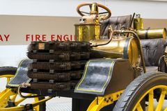 The NW 12 HP racing car from 1900 stands in National technical museum Royalty Free Stock Photo