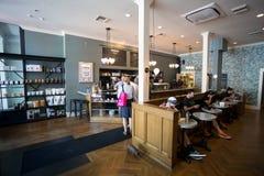 NW 23rd Barista sklep z kawą Portland Oregon Zdjęcie Stock