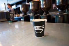 NW 23rd Barista sklep z kawą Portland Oregon Zdjęcia Royalty Free
