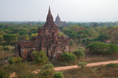 Nwar Pya Gu Temple on the Bagan Plain in Myanmar Royalty Free Stock Images