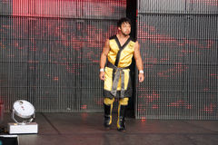 NXT Wrestle Hideo Itami, also know as Kenta Kobayashi is a Japan Stock Image