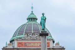 Ny嘉士伯Glyptotek博物馆在哥本哈根 库存图片