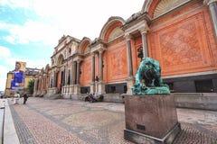 Ny嘉士伯Glyptotek是一座美术馆在哥本哈根,丹麦 图库摄影