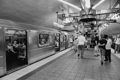 ny地铁 免版税图库摄影