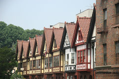 ny城市的住房 免版税图库摄影