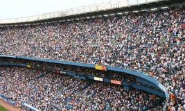 NY美国人和底特律老虎棒球比赛2007年7月8日 库存图片