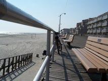 ny长期的海滩 免版税库存照片