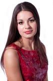 ny älskvärd ståendekvinna Fotografering för Bildbyråer